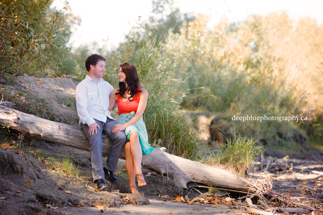 Edmonton River Valley Engagement Pictures
