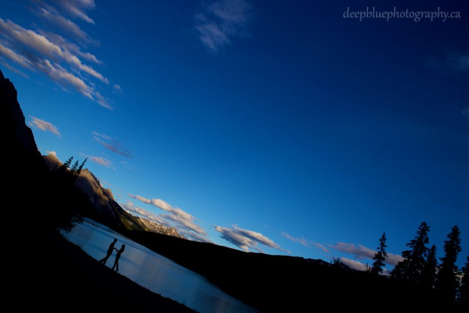 Engagement Pictures In Jasper National Park – Alannah & Roland