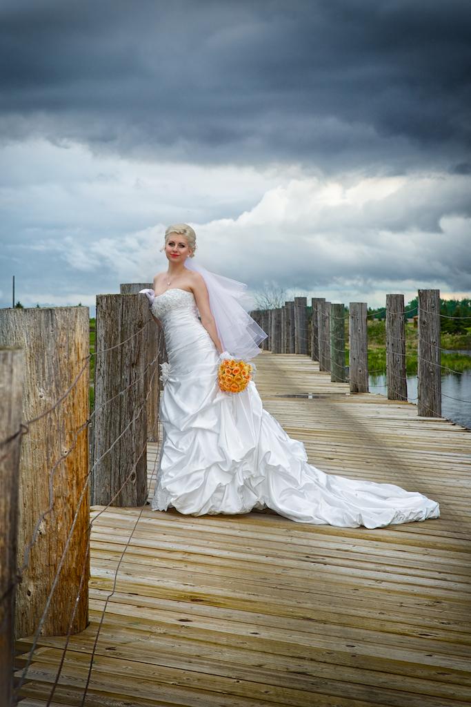 Viktoriya's Full Length Bridal Portrait