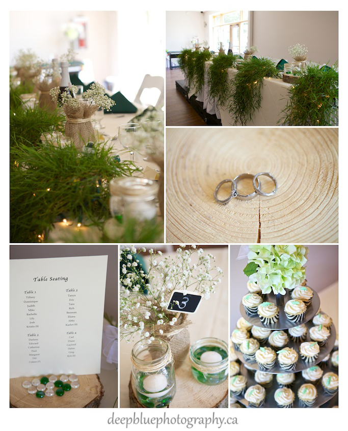 Photos of Emerald Green and Ivory Themed Wedding