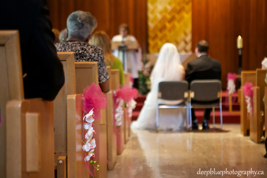 Wedding Ceremony at St George's Anglican Church
