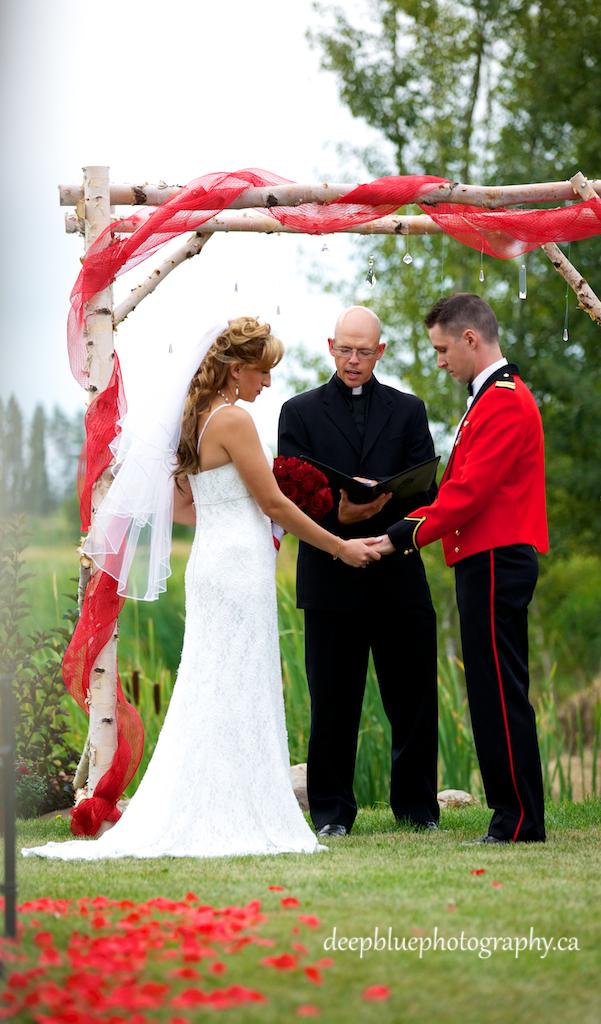 Photograph of Wedding Couple