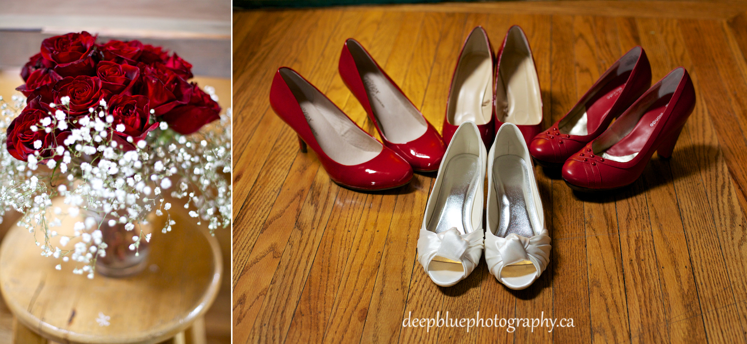 Hannah's Red Themed Wedding