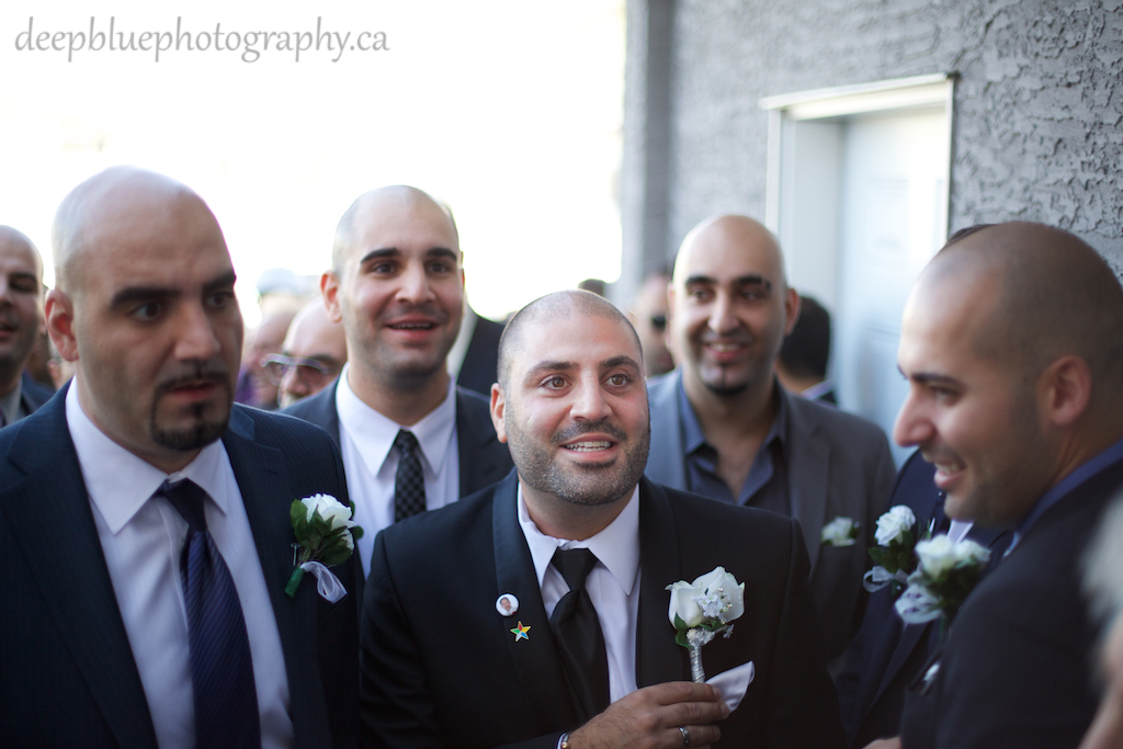 Photo of Groom Entering Bride's House