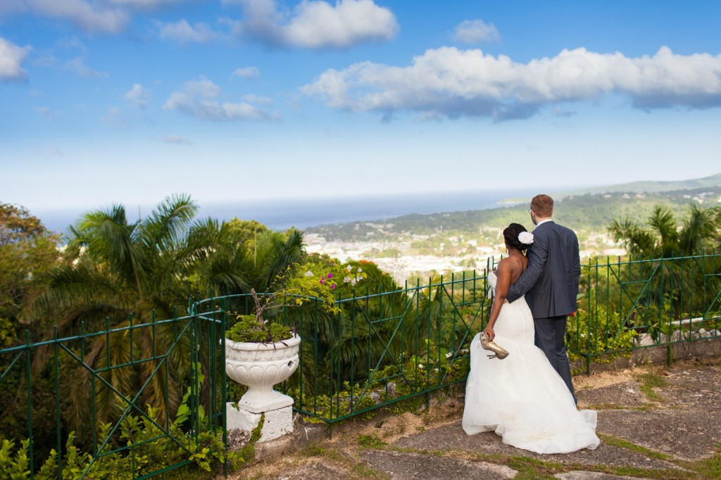 How to Plan a Destination Wedding - Picture From A Jamaica Destination Wedding