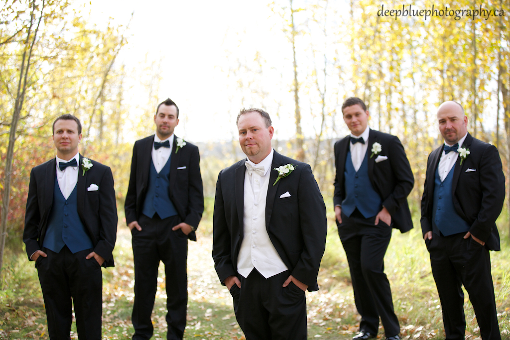 Brad and His Groomsmen
