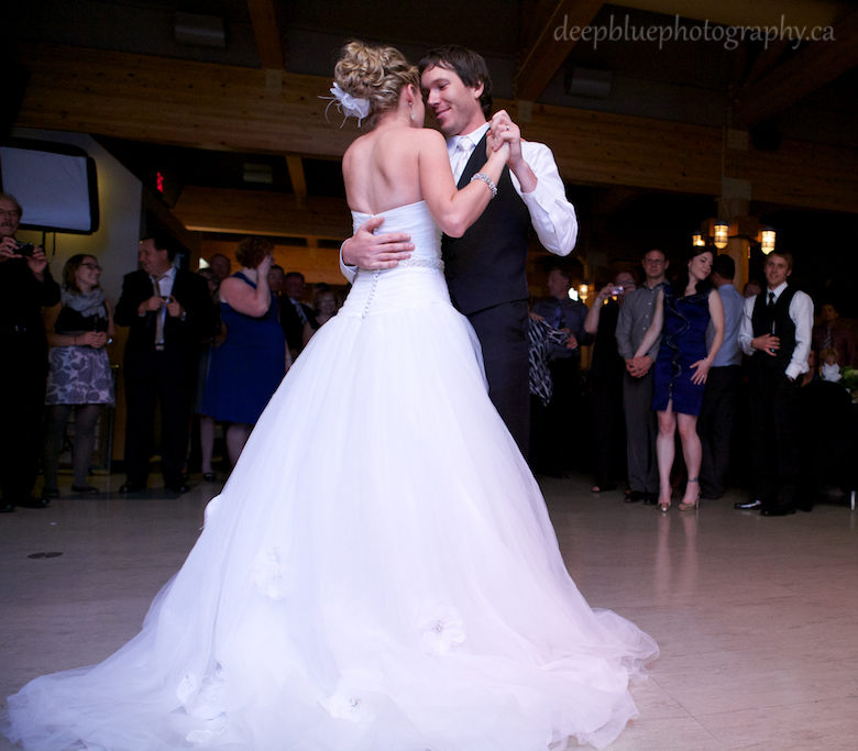 First Dance Snow Valley Wedding Reception