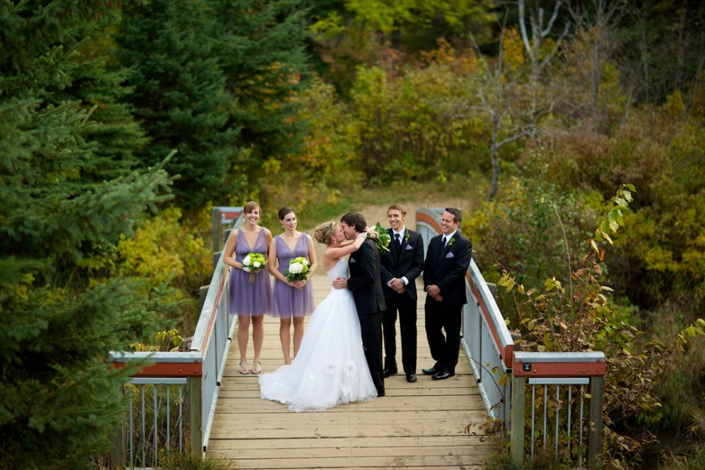 Edmonton Snow Valley Wedding