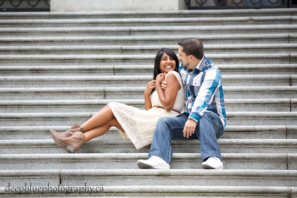 Unique Downtown Vancouver Engagement Pictures