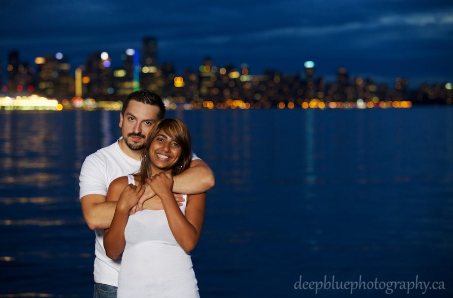 Unique Vancouver Engagement Pictures – Hardeep & Lars