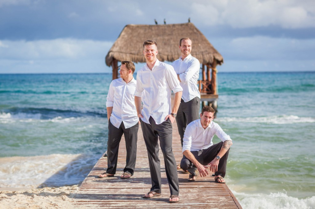 how to plan a destination wedding - what should the groom wear