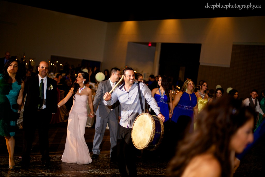 Wedding reception at the Shaw Conference Center