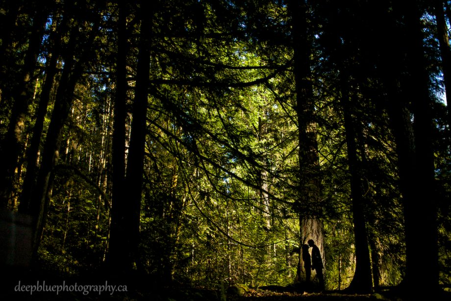 Vancouver Island Engagement Photography