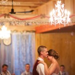 Alannah and Roland's first dance