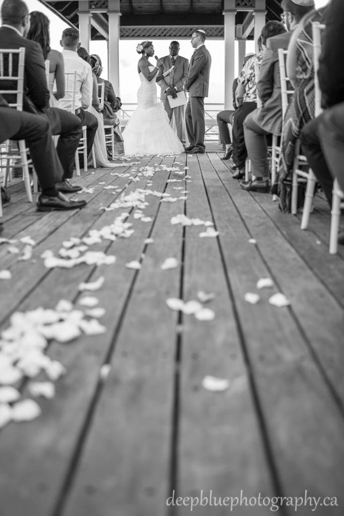 Royal Plantation wedding ceremony