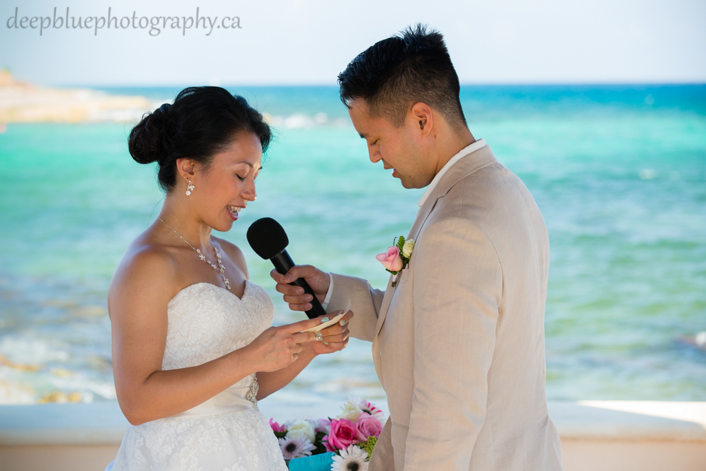 Photo of destination wedding ceremony