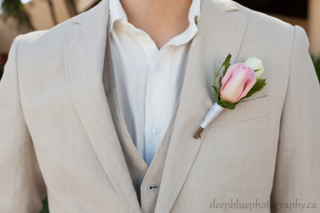 Groom's destination wedding suit