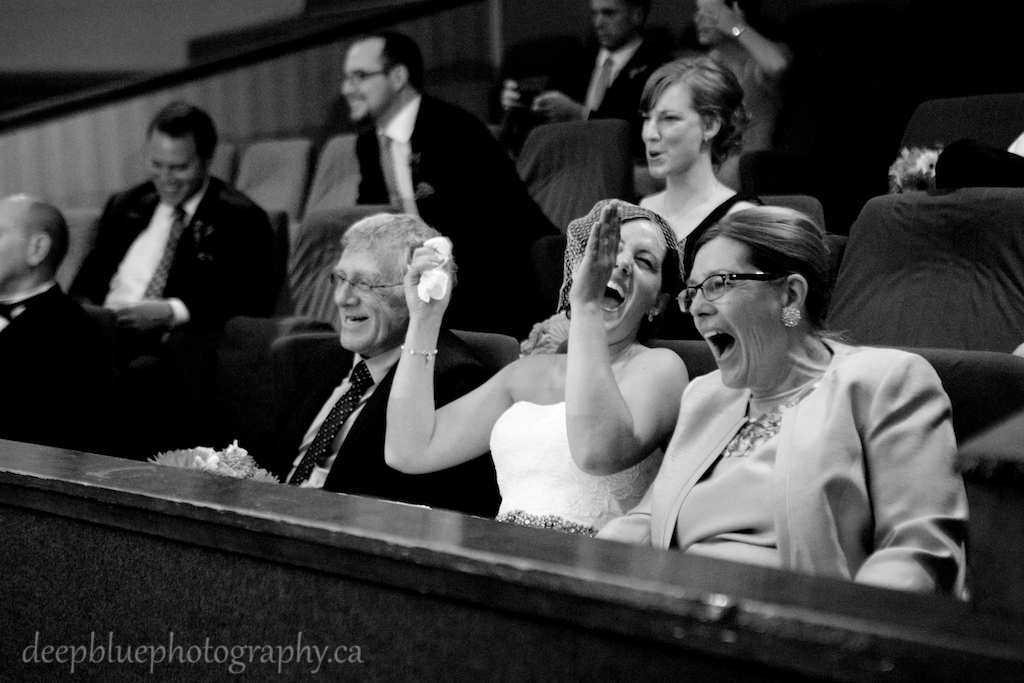 Candid Photo Princess Theatre Wedding