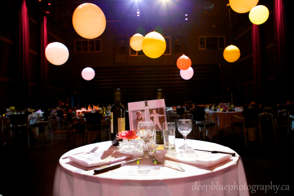 Fringe Theatre Wedding Reception
