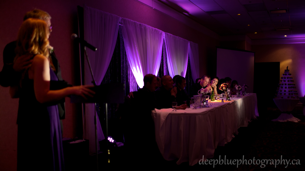 Nisku Inn Wedding Reception