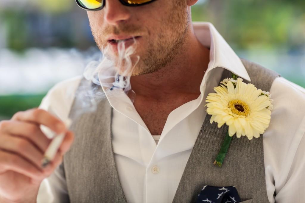 Groom Portrait Destination Wedding