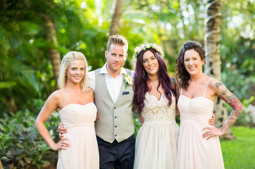 Wedding Party for Destination Wedding