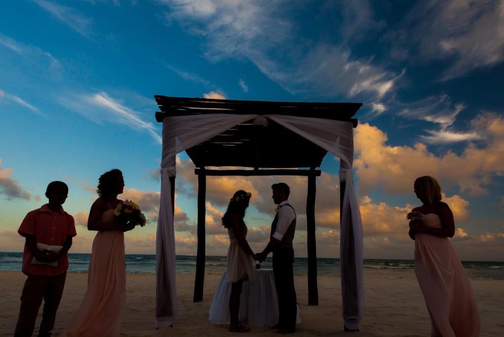 Sunset Beach Wedding Mexico