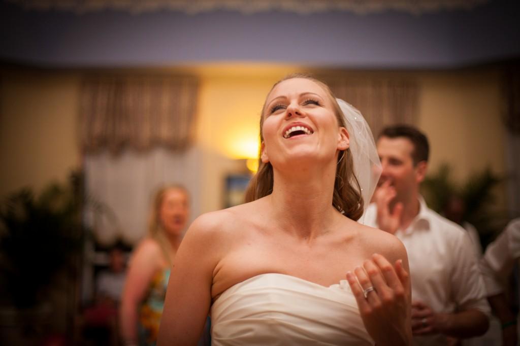 Bride at Wedding Dance