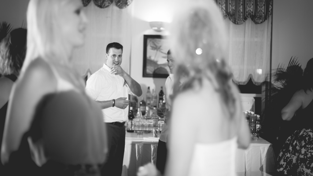 Desination Wedding Reception Dance