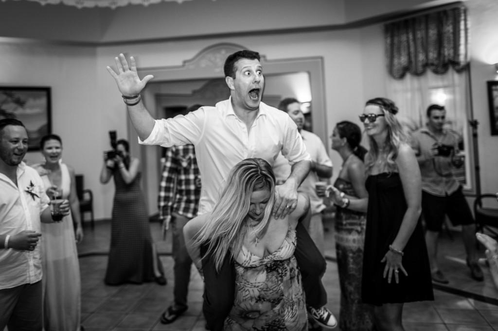 Groom at Wedding Dance