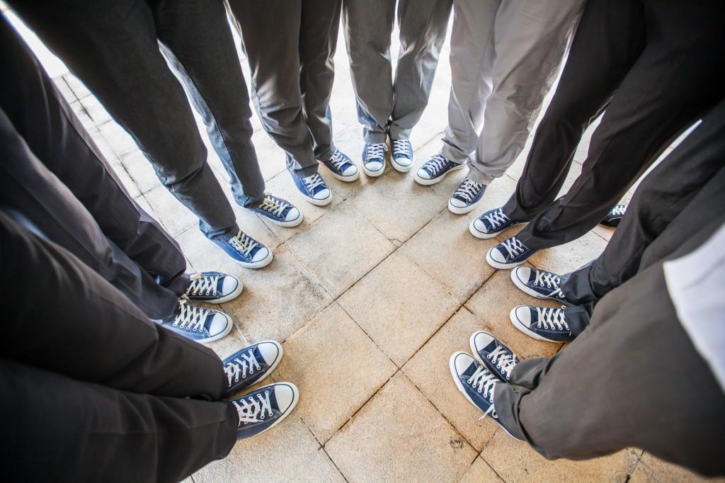 Groomsmen Shoes Destination Wedding