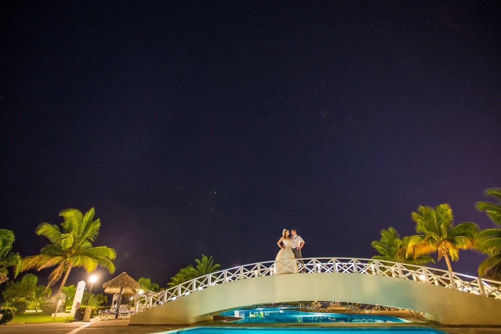 Night Wedding Portraits Destination Wedding