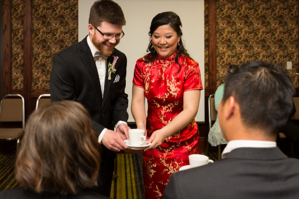 Wedding Tea Ceremony Photography