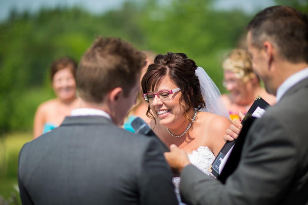 Wedding Ceremony Photography - Lions Garden Wedding