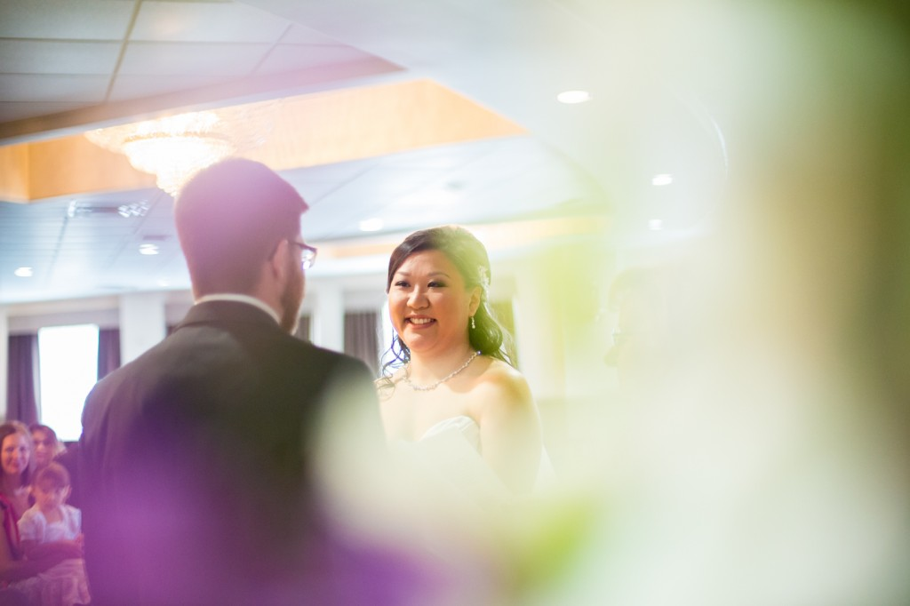 Deep Blue Wedding Ceremony Photography