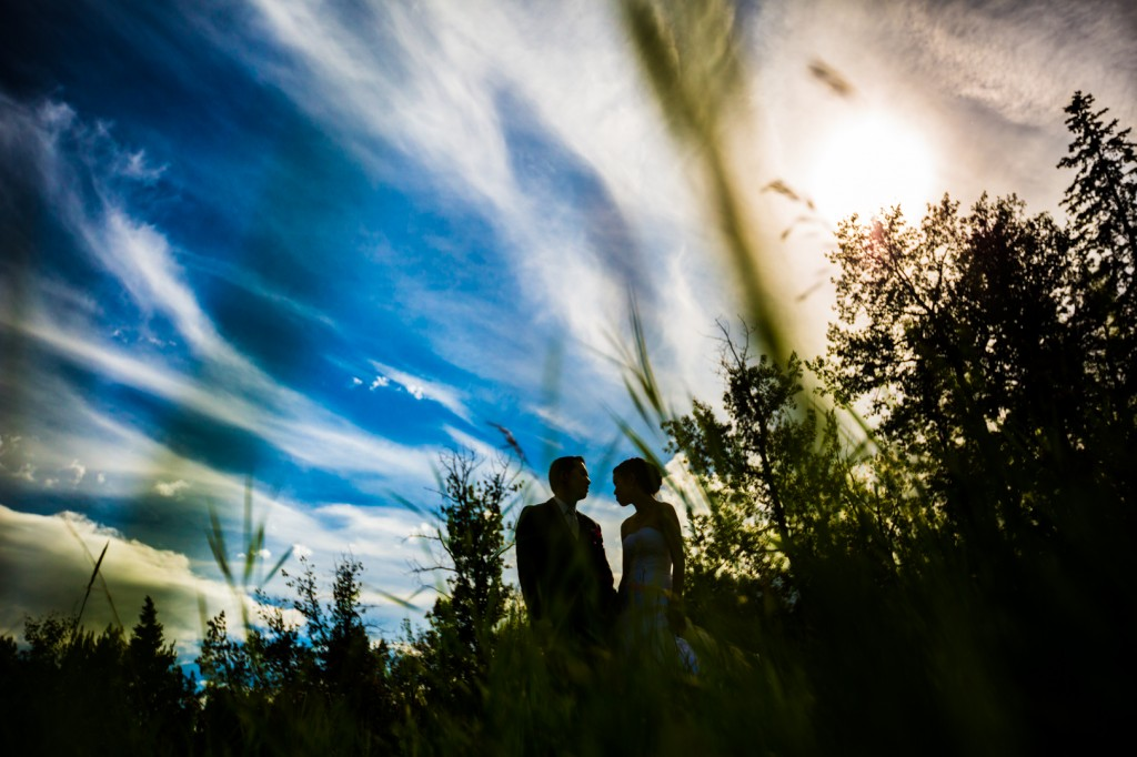 River Valley Wedding Portraits