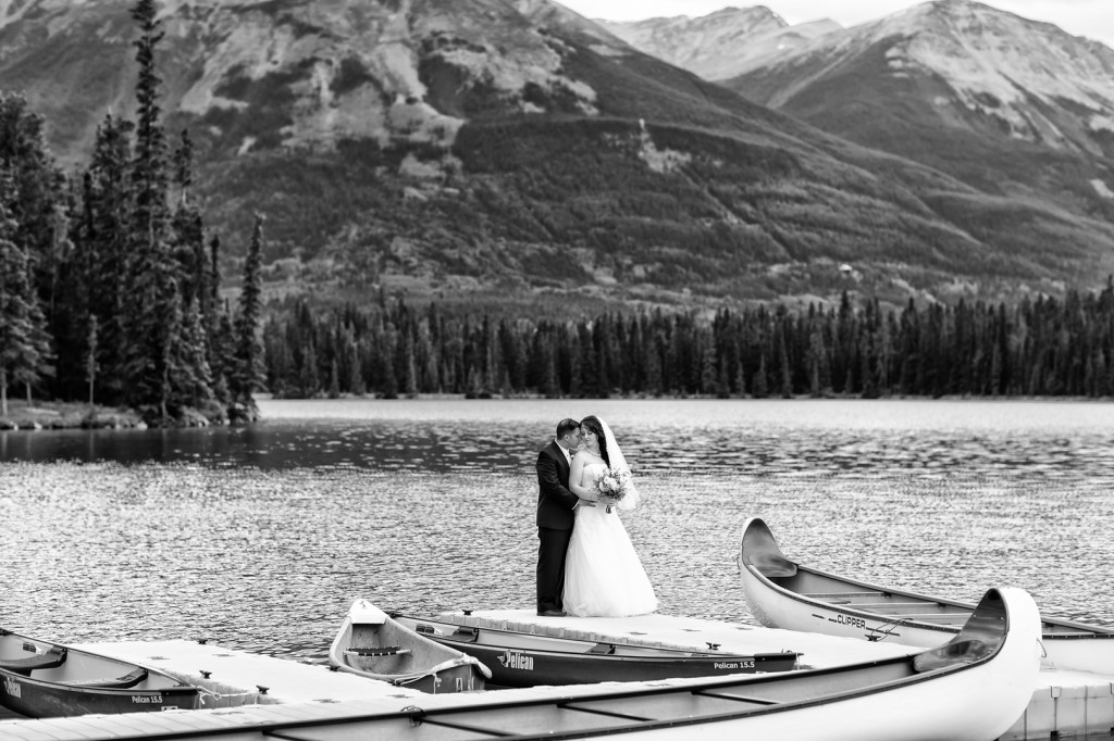 Jasper Park Lodge Wedding Photos
