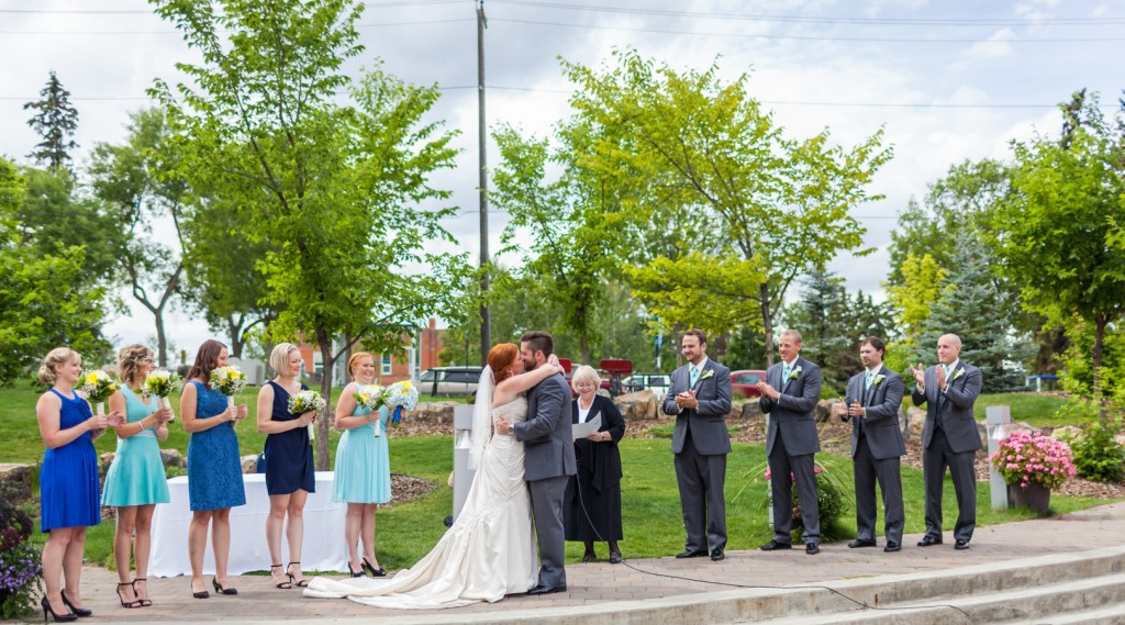 Terrace Wedding at La Cite Francophone