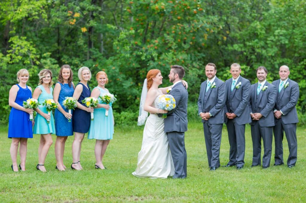 Blue and Grey Theme Wedding