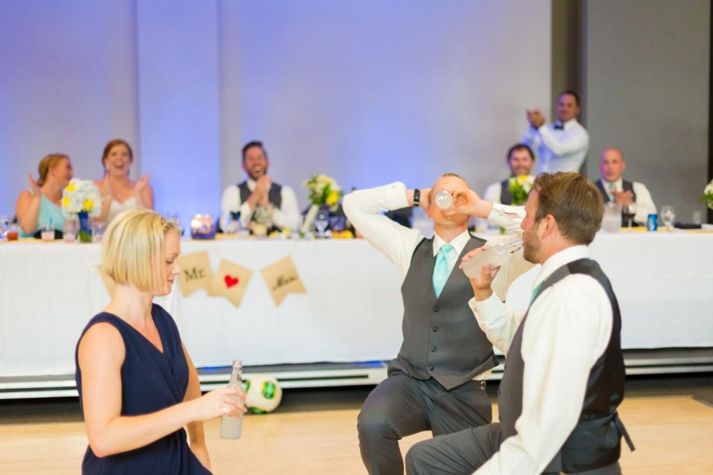 Wedding Party Ice Challenge