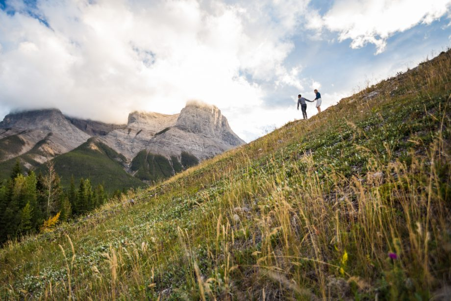 Canmore Engagement Photos – Kirsten & Corey