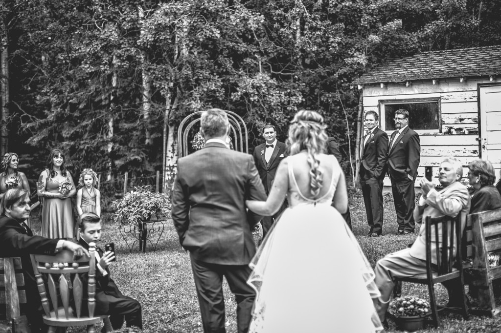 Athabasca Wedding Ceremony
