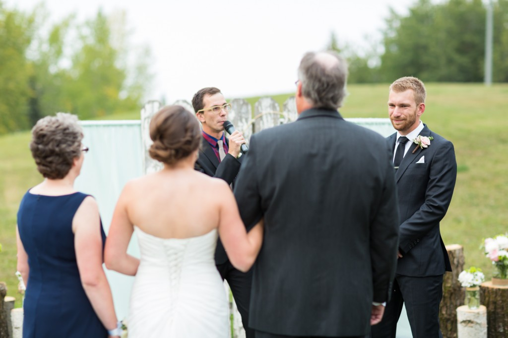 Snow Valley Wedding Ceremony Picture Of Groom Seeing Bride