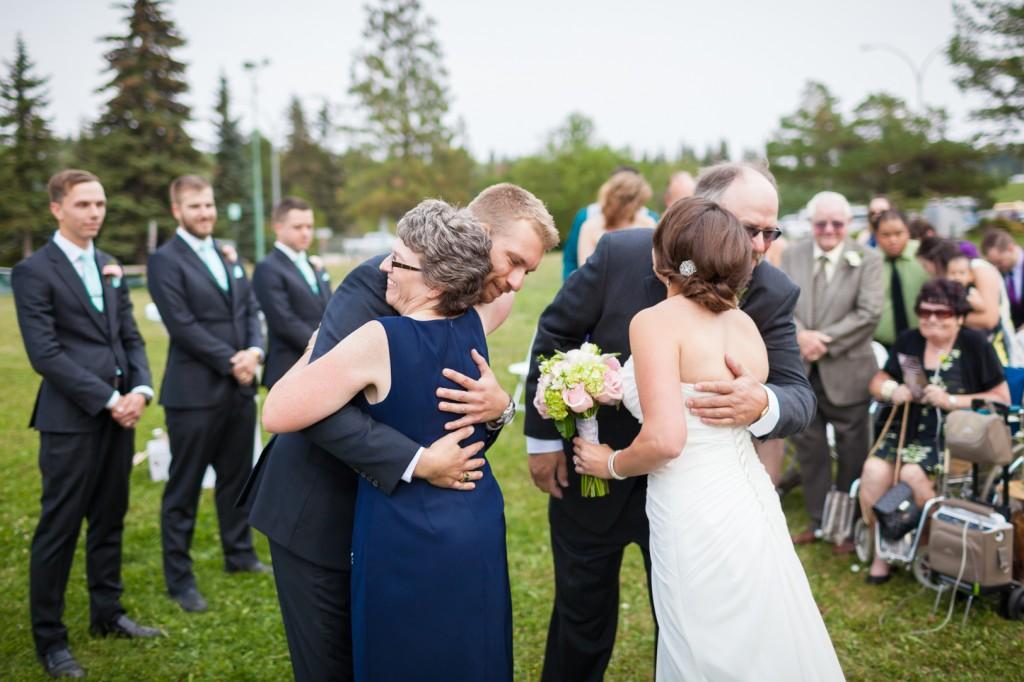 Wedding Ceremony Snow Valley