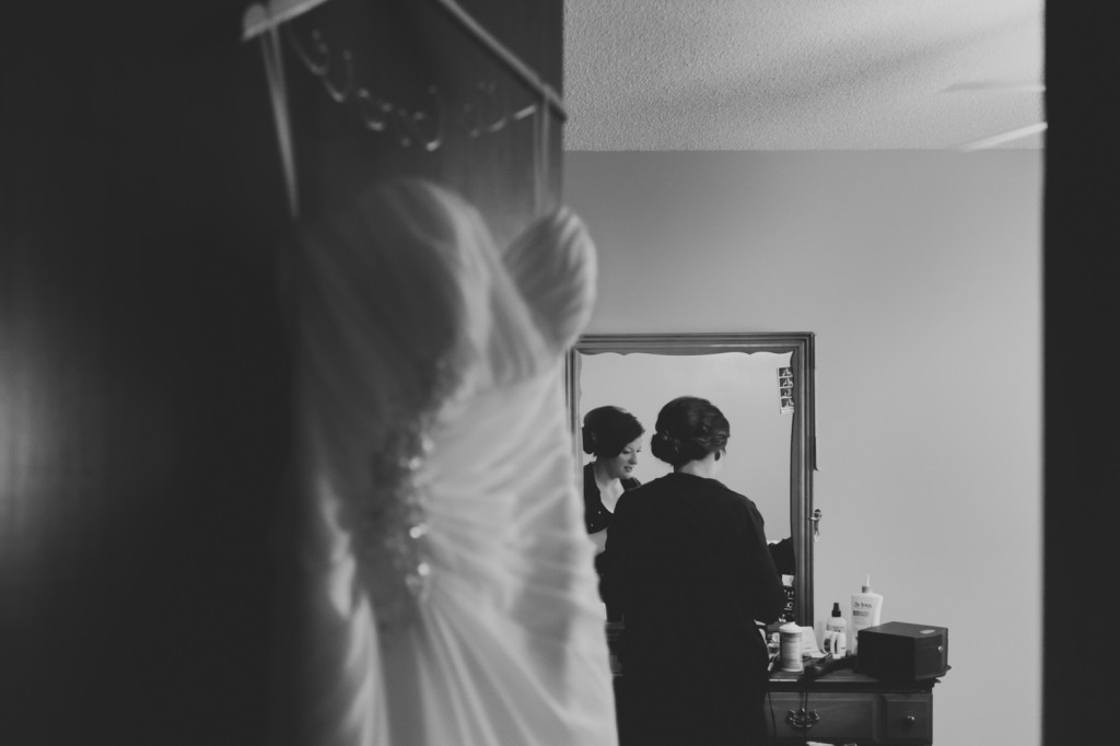 Bride Getting Ready Photo