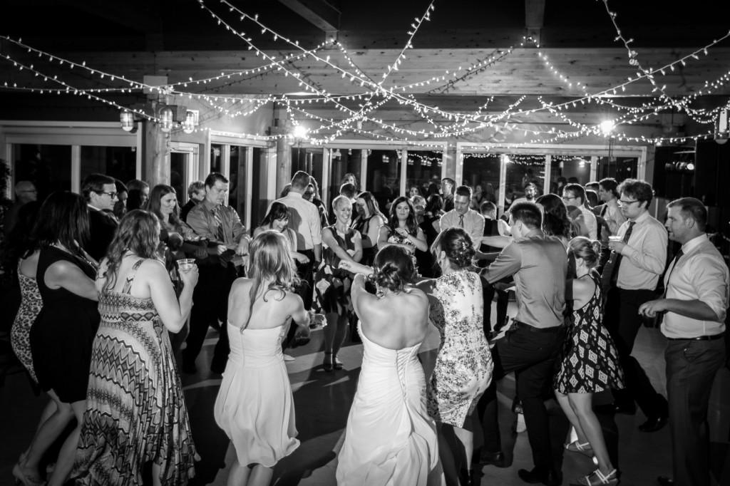 Party Photos Snow Valley Wedding