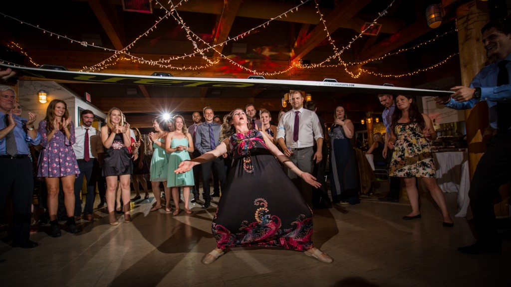 Wedding Dance Snow Valley