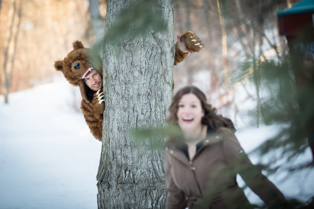 Engagement Photos with Costumes