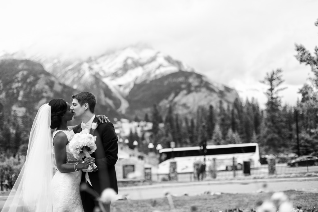 Banff Rundle Mountain Wedding Photos