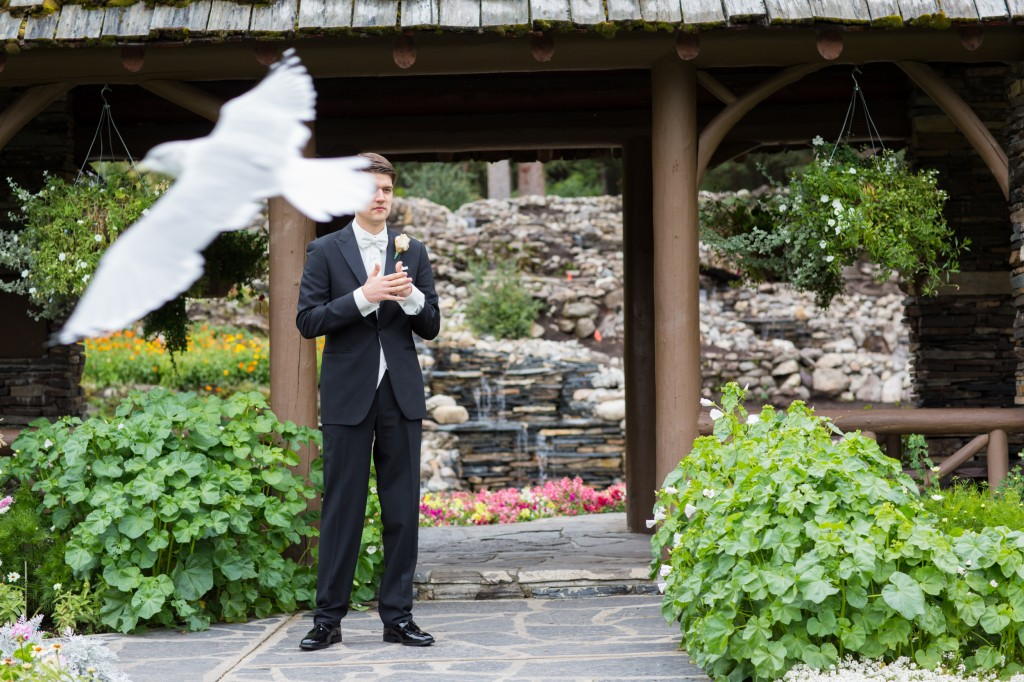 Photo of Groom Waiting for Bride